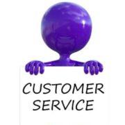 Purple Man Quality Customer Service Communication